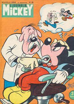 I never knew Mickey Mouse had any teeth