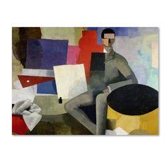 Trademark Fine Art Roger de La Fresnaye 'The Architect' Canvas Art