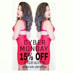 Sale!! Take 15% off sitewide on already low prices!  Use coupon code CYBERMONDAY SHOP Now >>> www.TopGlamShop.com