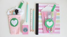 Back to school can be fun, especially if you can DIY your own school supplies…