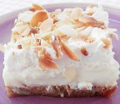 Για το μεσημέρι της Κυριακής αλλά και για το απογευματινό καφεδάκι, σας προτείνω ένα πανεύκολο και γρήγορο γλυκάκι ψυγείου, τύπου Εκμέκ. ... Cold Cake, Greek Sweets, Cheesecake Brownies, Cookie Cups, Sweets Cake, Recipe Boards, Greek Recipes, Frozen Yogurt, Cake Cookies