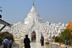 Amazing snow white Pagoda
