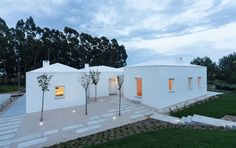 Casa Belas by CHP Arquitectos - combines a contemporary look with traditional Portuguese architecture styles