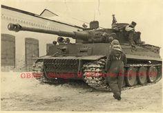 Tiger I eastern front Achtyrka