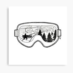 High quality Snowboard inspired Wall Art by independent artists and designers from around the world. Skiing Tattoo, Snowboarding Tattoo, Snowboarding Quotes, Ski Drawing, Xmas Drawing, Ski Lodge Decor, Snowboard Design, Painted Rocks Craft, Men Tattoos