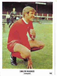 The SUN 1970/71 Football Swap Card Emlyn Hughes, Walking Alone, Crazy Horse, Liverpool Fc, My Childhood, Legends, Hero, Football, Sun