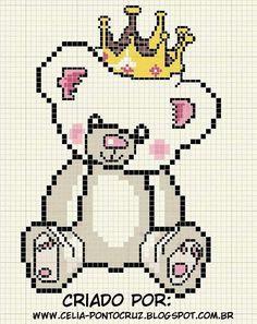 Ursinho com coroa