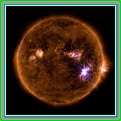 On Sept. a giant sunspot on the sun erupted with a colossal solar flare that registered on the solar storm scale. See photos of the massive flare, and its solar aftershocks, in our gallery here. What Is Solar Energy, Solar Power Energy, Advantages Of Solar Energy, Solar Energy Panels, Solar Energy System, Solar Panels, Sun Activity, Solar Activity, Piercings Ideas