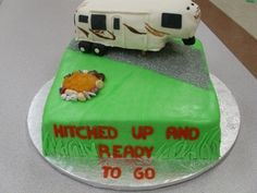 Camper Cake  By Tacy09 on CakeCentral.com
