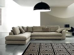 Sectional upholstered fabric sofa BIJOUX | Sectional sofa - Ditre Italia