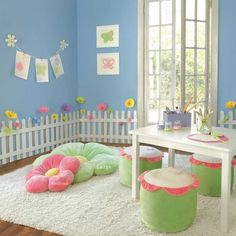 For a girls play area.