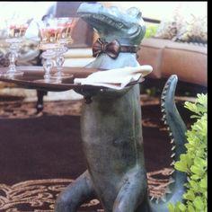 Belvedere Alligator Table Alligators And Outdoor Living