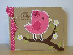 Scrappin' Navy Wife: A little Birdie told me...Bird-day Card