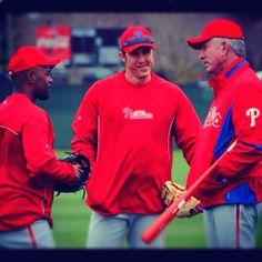 it's baseball season <3 phillies ~ Jimmie, Chase, Micheal Jack <3