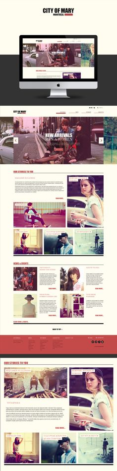 City Of Mary on Behance