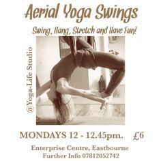 Aerial yoga swings