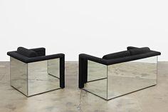 Friedrich Kuhn and Robert & Trix Haussmann at Tanya Leighton (Contemporary Art Daily) Unique Furniture, Sofa Furniture, Furniture Design, Mirror Furniture, Contemporary Art Daily, Lounge Seating, Leather Sofa, Cheap Home Decor, Chair Design