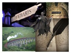 """""""Hogwarts Train Ride"""" by mackenzielensonmalfoy ❤ liked on Polyvore featuring art"""