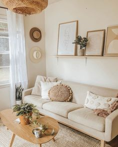 Home Interior Design .Home Interior Design Boho Living Room, Home And Living, Simple Living Room Decor, Small Living Rooms, Living Room Warm Colors, Beige Living Rooms, Condo Living, Living Spaces, Cheap Home Decor