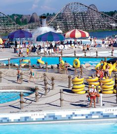 Michigan's Adventure.  Perfect for kids under 10 and the rest of the family too!