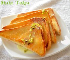 How to make shahi tukda with pistachios