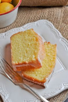 Meyer Lemon Sour Cream Pound Cake - Lemon Sugar