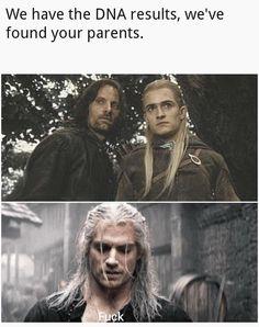 Memes Humor, Funny Memes, Nerd Humor, Funniest Memes, Baggins Bilbo, Thorin Oakenshield, Legolas And Aragorn, Minecraft Welten, Witcher Wallpaper