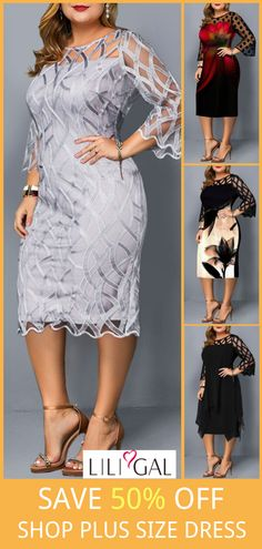 2019 Plus Size Sale Only For 1 Week ! Landscaping iDeas Crafts For Kids ? Plus Size Cocktail Dresses, Plus Size Dresses, Sexy Dresses, Plus Size Outfits, Plus Size Sale, Plus Size Tops, Plus Size Womens Clothing, Plus Size Fashion, Clothes For Women