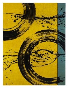 Cercles d'eau (2011) by Fabienne Verdier.