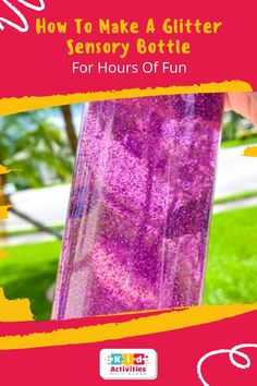 How To Make A Glitter Sensory Bottle For Hours Of Fun! diy sensory bottles, sensory bottles for toddlers, Fall sensory bottles, Halloween sensory bottles, sensory bottles for babies, how to make sensory bottles, glitter sensory bottles, galaxy sensory bottle, easy sensory bottles, Christmas sensory bottles, autumn sensory bottles, sensory bottle ideas, homemade sensory bottles, best sensory bottles. #diysensorybottles #sensorybottlesfortoddlers #fallsensorybottles #sensorybottlesforbabies Sensory Bottles For Toddlers, Sensory Bottles Preschool, Glitter Sensory Bottles, Halloween Activities, Activities For Kids, Easy Diy, Fun Diy, Clear Glue, Cool Kids
