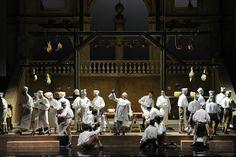 """""""Un giorno di regno"""", G. Verdi, Parma, Teatro Regio, 1997, Regia - Scenografia - Costumi di Pier Luigi Pizzi"""