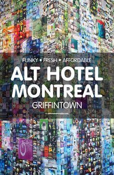 Funky Fresh Affordable Alt Hotel Montreal in Griffintown. A Le Germain Hôtels property with 12 locations across Canada, this budget-friendly funky fresh hotel is a comfortable place to stay for a weekend getaway in the city. #hotel #review #Montreal #Quebec #Canada #travel