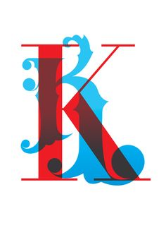 The letter K on Typography Served Typography Served, Typography Letters, Hand Lettering, Picture Letters, K Project, Drop Cap, Typographic Design, Freelance Graphic Design, Branding