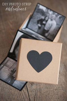 DIY Photo Strip Valentines