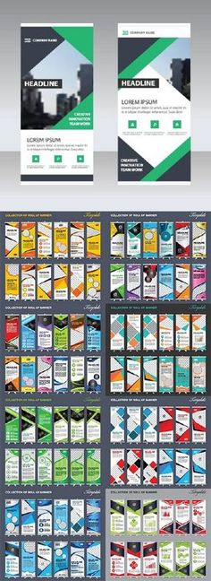 Collection Roll Up Banner More
