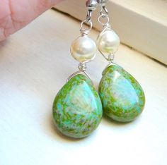Gifts for her under 2500 Wire wrapped by JewelrybyJMS on Etsy, $22.00
