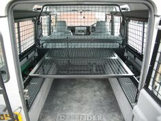 land rover 110 sw defender sleeping in back - Google Search