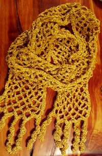 Lattice Scarf #scarf free #crochet pattern