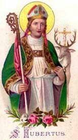 Saint Hubert of Liege Patron Saint of Mad Dogs Catholic Saints, Patron Saints, Religious Images, Religious Art, Extreme Unction, Apocalypse, Religion, Gods And Goddesses, Pilgrim