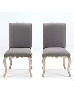 Black Orchid Grace Grey Oak Studded Dining Chair - House of Fraser Black Orchid, Grey Oak, House Of Fraser, Accent Chairs, Dining Chairs, Furniture, Home Decor, Upholstered Chairs, Decoration Home