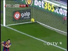 xavi amazing goal barcelona vs real madrid 5-0 29/11/10 El Clasico