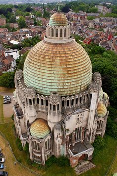 Church of the Sacred Heart... Liege, Belgium