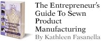Kathleen Fasanella's blog gives us info on how the clothing industry works. If you're ever planning to start a sewing business of your own, I would highly recommend her book. She has a wealth of information on how clothing is constructed, distributed & sold.