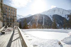Ehrwürdig und bestens geeignet für einen Urlaub mit Kindern: Das Grandhotel Hotel Castell im Engadin (Schweiz)   #Schweiz #Engadin #Familienhotel #Luxushotel #Winterurlaub