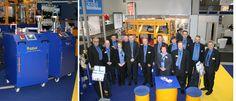 Die Raziol Zibulla & Sohn GmbH auf der Blechexpo, der internationalen Messe für Blechverarbeitung, 2013.