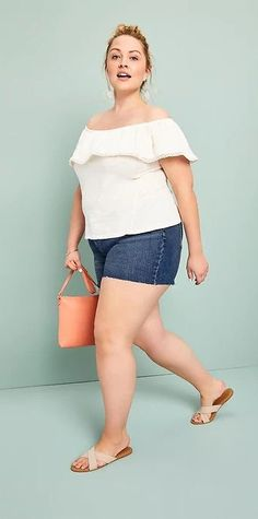 Plus Size Summer Outfit - Plus Size Fashion for Women #plussize