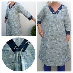 Liesl + Co Cappucino Dress sewing pattern