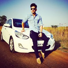 Image For Handsome Boy In Car Cool And Stylish Fb Dp For Boys