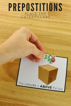 Prepositions task cards give your students hands on practice learning important concepts.