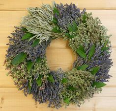 French Herb Wreath @Creekside Farms